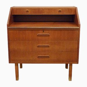 Teak Veneered Secretaire, 1960s