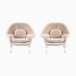 Chaises Womb Mid-Century par Eero Saarinen pour Knoll Inc. / Knoll International, Set de 2