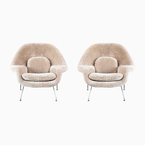 Womb Chairs by Eero Saarinen for Knoll, 1960s, Set of 2