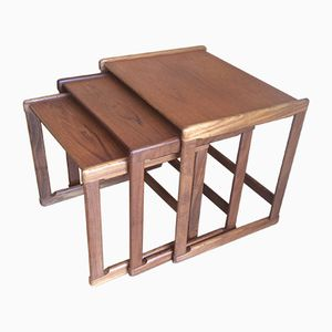Teak Nesting Tables by G-Plan, 1960s