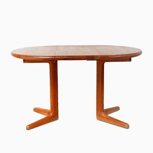 Mid-Century Danish Dining Table with Extension from Korup Design