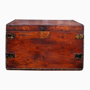 19th Century Wooden Trunk