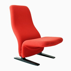 Mid-Century Concorde Lounge Chair by Pierre Paulin for Artifort