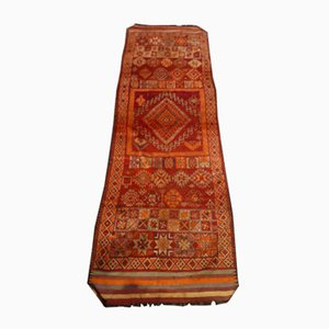 Antique Moroccan Handwoven Rug, 1900s