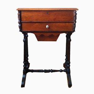 Tavolo da cucito antico, Regno Unito, fine XVIII secolo