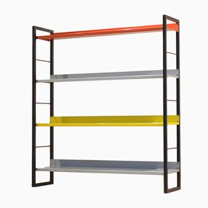 Free Standing Shelving Unit by A. Dekker for Tomado, 1950s