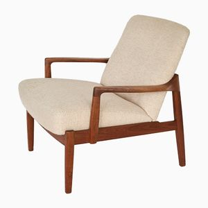 Mid-Century Model FD125 Lounge Chair by Tove & Edvard Kindt-Larsen for France & Søn