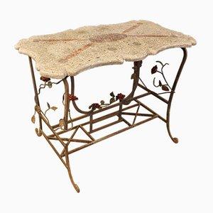 French Art Deco Terrazzo Table, 1930s