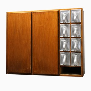 Frankfurter Kitchen Cabinet with 8 Haarer Drawers by Margarete Schütte-Lihotzky, 1950s