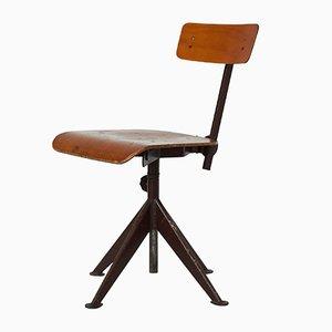 Chaise de Travail Vintage Pivotante par Jean Prouve