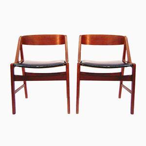 Chaises de Salon par Henning Kjaernulf pour Boltings Stolefabrik, 1960s, Set de 4