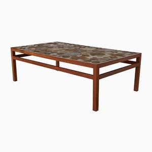 Table Basse Mid-Century par Tue Poulsen