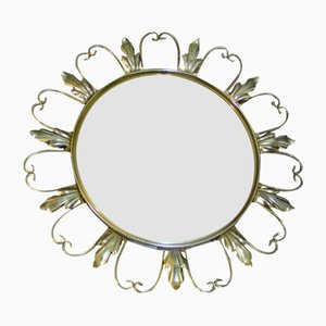 French Circular Mirror, 1960s