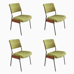 Französische Stühle, 1960er, 4er Set
