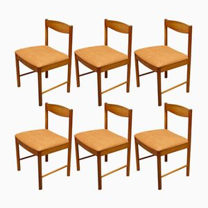 Mid-Century Teak Chairs from McIntosh, Set of 6