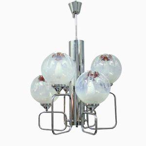 Vintage Murano Glas Lampe von Mazzega, 1960er