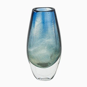 Mid-Century Kraka Glass Vase by Sven Palmqvist for Orrefors