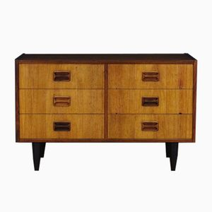 Mid-Century Danish Rosewood Veneered Chest of Drawers