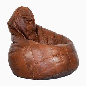 Leather Bean Bag, 1970s