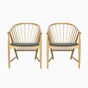 Sun Feather Spindle Stühle von Sonna Rosén für Nässjö Stolfabrik, 2er Set