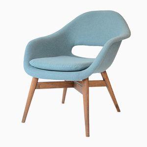 Shell Lounge Chair by Miroslav Navratil for Český Nábytek, 1962