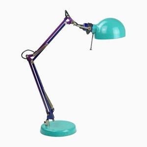 Industrielle Vintage Schreibtischlampe mit Gelenkarm