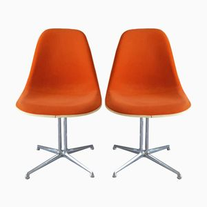 Mid-Century La Fonda Chairs by Charles & Ray Eames for Vitra, Set of 2