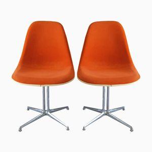 Mid-Century La Fonda Stühle von Charles & Ray Eames für Vitra, 2er Set