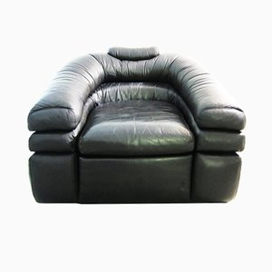 Vintage Leather Armchair by De Pas, D'Urbino, Lomazzi for Zanotta
