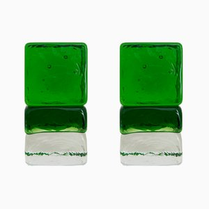 Gogi Cogi Colored Murano Glass Paperweights by Giusto Toso for Fratelli Toso, 1961, Set of 2