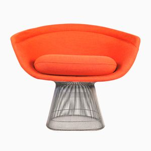 Vintage Polsterstuhl von Warren Platner für Knoll International