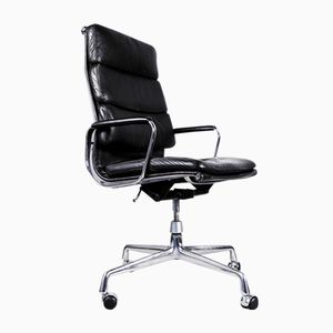 Vintage EA 219 Soft Pad Chair by Charles & Ray Eames for Herman Miller