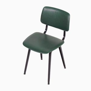 Vintage Green Skai Revolt Chairs by Friso Kramer for Ahrend de Cirkel, Set of 2
