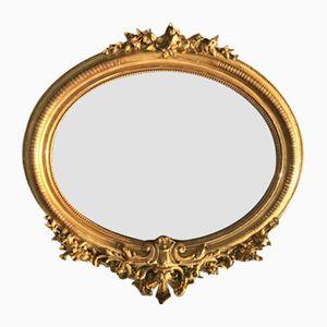 Antique Napoleon III Golden Mirror