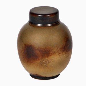 Vintage Jar with Lid by Ebbe Sadolin for Bing & Grondahl