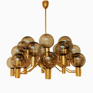 Patricia T372/24 Chandelier from Hans Agne Jakobsson, 1960s