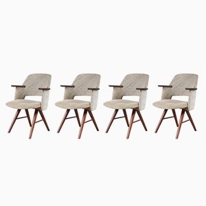 FE30 Dining Chairs, 1950s, Set of 4