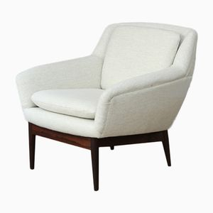 Mid-Century Low Back Armchair by Ib Kofod-Larsen for Bovenkamp