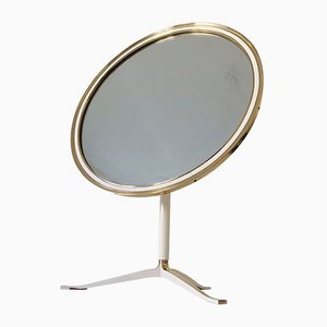 Large Mid-Century Modern Table Mirror