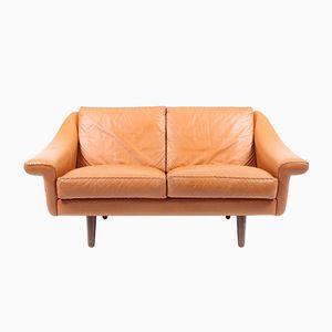 Leather Matador Sofa by Aage Christensen for Erhadsen & Andersen, 1960s