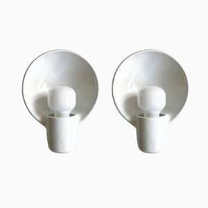 Mid-Century Systral Sconces by Wilhelm Wagenfeld for Lindner, Set of 2