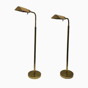 Vintage Floor Lamps by George Hansen for Metalarte, 1960s, Set of 2