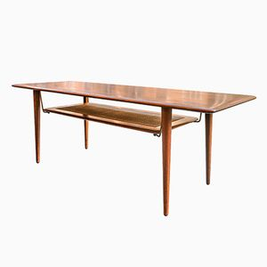 Model 516 Teak Coffee Table by Peter Hvidt & Orla Mølgaard-Nielsen for France & Son, 1960s