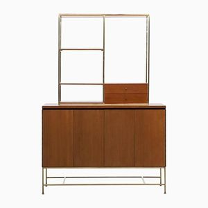 Sideboard with Matching Shelf by Paul McCobb for Calvin