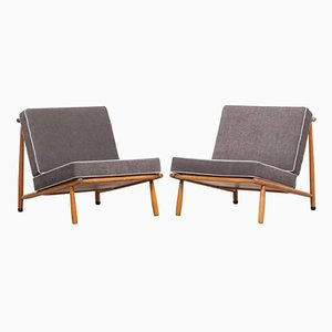 Mid-Century Lounge Chairs by Alf Svensson for DUX, Set of 2