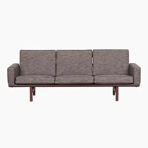 Vintage 3-Seater Sofa by Hans J. Wegner for Getama