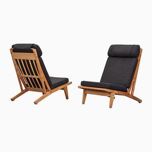 Vintage Sessel von Hans Wegner für Getama, 2er Set