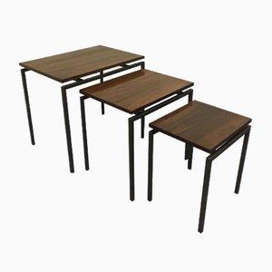 Tables Gigognes par Cees Braakman pour Pastoe, 1950s, Set de 3