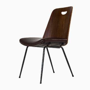 Chaise DU22 Mid-Century par Gastone Rinaldi pour Rima