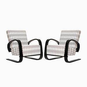 Cantilever Lounge Chair by Miroslav Navratil for Spojene UP Zavody, 1950s, Set of 2